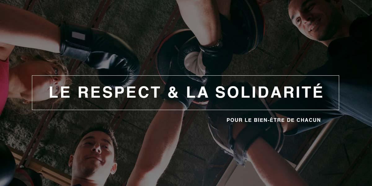 Respect et solidarité